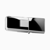Glastür scharnier für dusche mit 180° öffnung, 90° nach innen und aussen