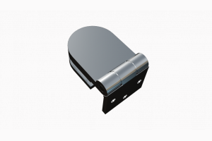 glastür scharnier für dusche mit außenöffnung 180° ART. 701B 700-serie
