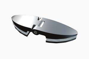 glastür scharnier für dusche mit außenöffnung 90° ART. 800C 800-serie