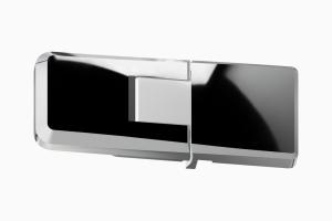 glastür scharnier für dusche mit 180° öffnung, 90° nach innen und aussen ART. C0296 up-serie