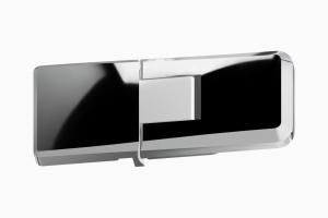 glastür scharnier für dusche mit 180° öffnung, 90° nach innen und aussen ART. C0297 up-serie