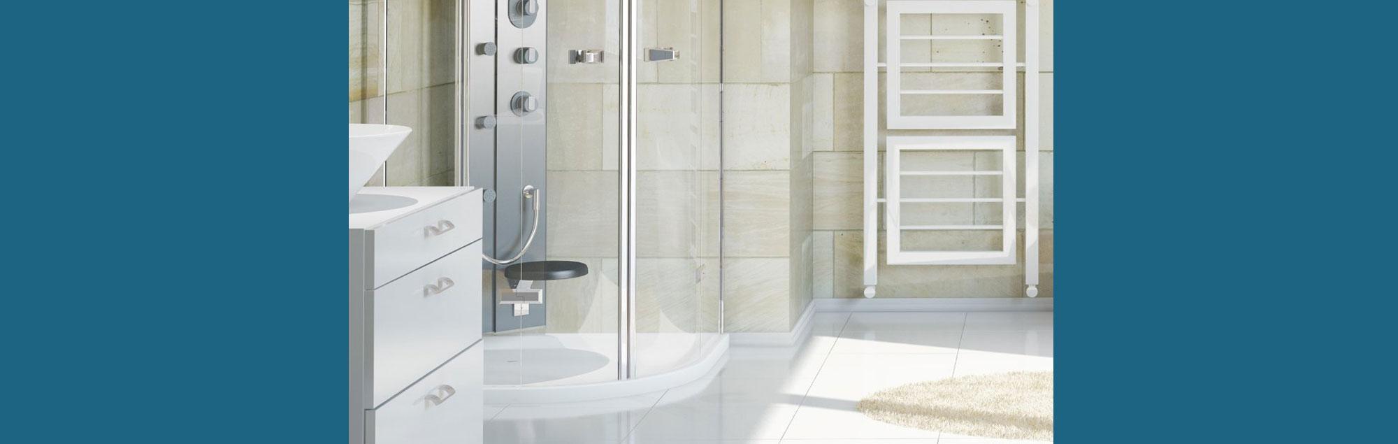 Scharniere für Glastüren dusche